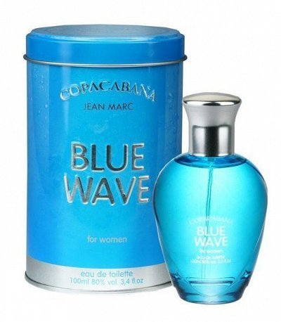 Copacabana Eau de toilette women Blue Wave 100ml